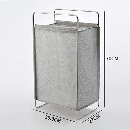 Cesta de Ropa Sucia Inicio Cesta de Almacenamiento de Ropa Sucia Caja de Juguetes Plegable nórdica Simple Poner el Cubo de Ropa Pinzas de lavandería Gris 39.3 * 27 * 70 cm: Amazon.es: Hogar