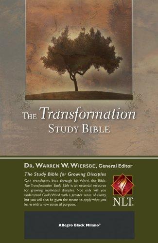 The Transformation Study Bible--Allegro Black Milano PDF