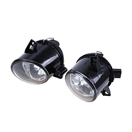 Fog Lights,POSSBAY Pair Front Bumper Lamp 12V for Seat Cordoba Sport 2006-2008 ()