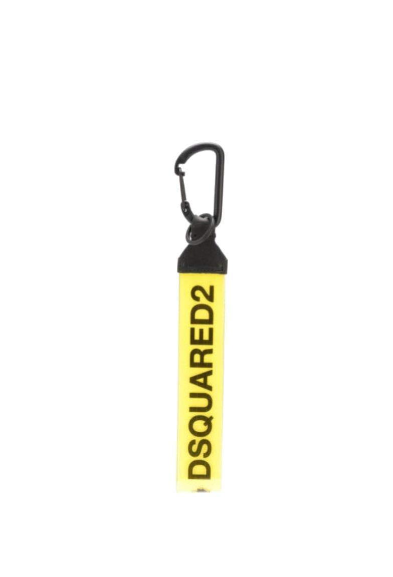 Dsquared2 Men's Krm002520201803m1207 Yellow Cotton Key Chain