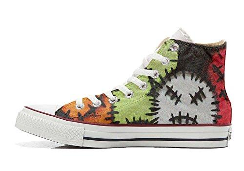 unisex All Prodotto Fantasy Star 2 CONVERSE Artigianale Sneaker CONVERSE personalizzate 1gnqPIqv