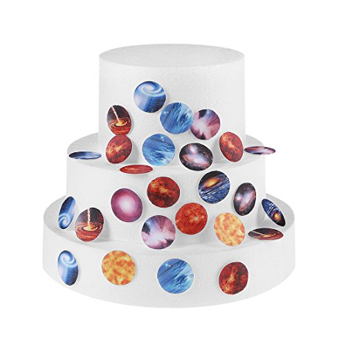 Solar System Order Of The Planets - GEORLD Pre-cut 48pcs Solar System Outer Space Planets 1.2