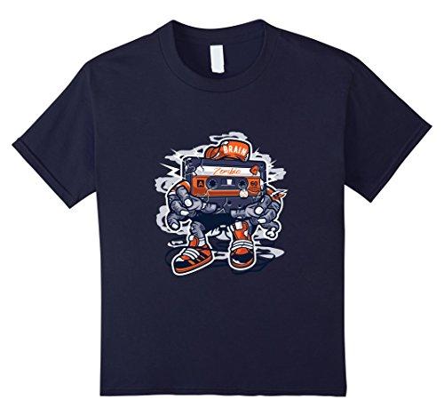 Kids 80s Zombie Tape Halloween T-Shirt Cartoon Music Shirt 12 (80s Cartoon Costumes)