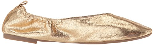 York Gemini Ballet Cole Flat Medium Women's Gold New Kenneth qxXEdwpII