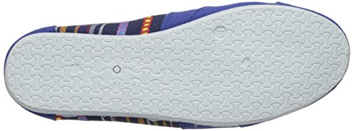 Anig Shoes Easy USA Womens Canvas Slip On Shoes Flats Purple 308L