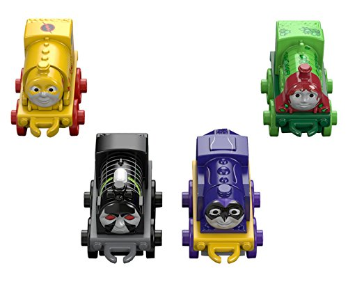 Fisher-Price Thomas the Train DC Super Friends Character #5 (4 Pack) (Thomas Train Characters)