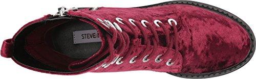 Womens velvet Madden burgundy Revive Steve T8YFxq5Y
