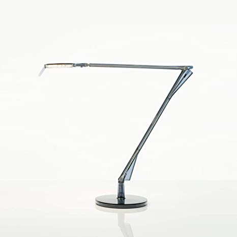 Kartell Aledin Tec lampada da tavolo trasparente blu ...