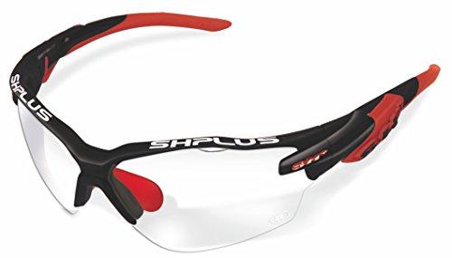 SH + RG 5000Reactive, lunettes Mixte adulte M Nero Rosso/Photocromic Lens