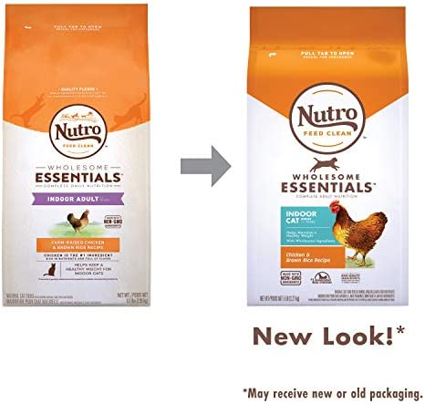 Nutro Wholesome Essentials Indoor and Sensitive Digestion Dry Cat Food, Chicken 8
