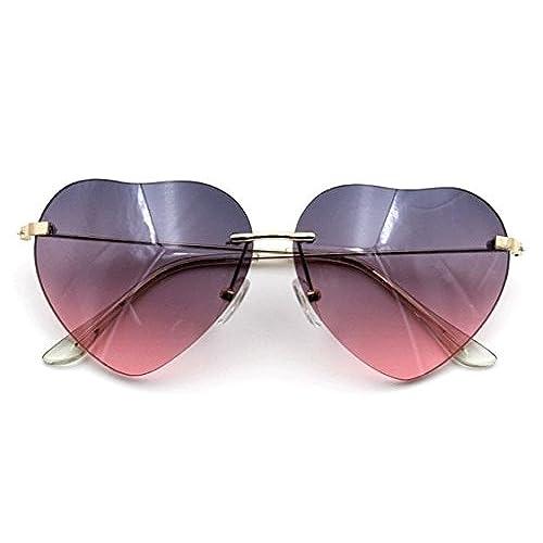 Pink Heart Shape Glasses: Amazon.com