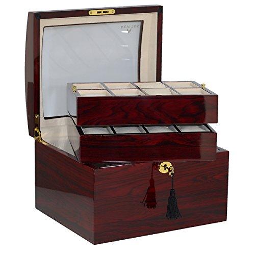 Superior Qualität Palisander Armbanduhr Collector Box für 16Uhren von aevitas -