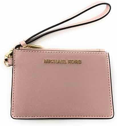 a459f31cb Michael Kors Jet Set Travel Top Zip Coin Pouch ID Card Case Wallet Wristlet