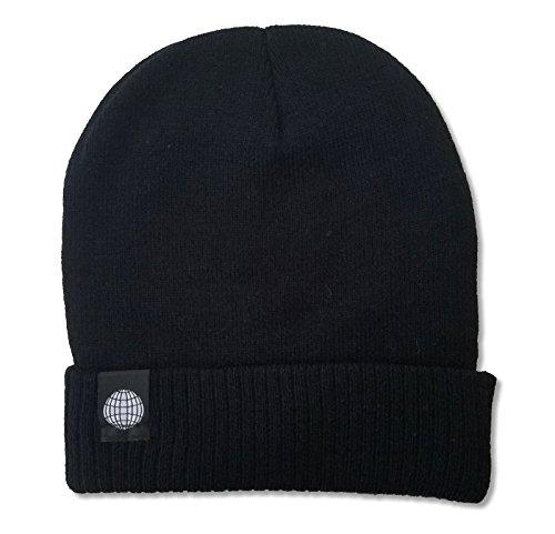 ASAP Worldwide Anarchy Tag Black Beanie Ski Hat Cap A$AP Mob (Beanie Asap)