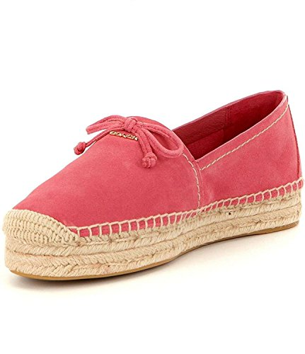 Coach Womens rae Fabric Closed Toe Espadrille Flats Peony free shipping extremely sale for sale Red pre order eastbay buy cheap genuine cheap sale sale bjHLNA66