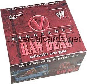 WWE Raw Deal Card Game Vengeance Booster Box by Comic Images