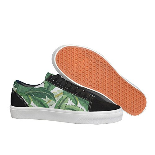 Tropical Banana Leaves Women Fashion Sneakers Lightweight Sport Shoes