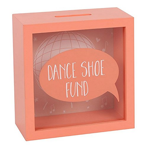 Something different Dance Shoe Fund Money Box (One Size) (Peach) ()