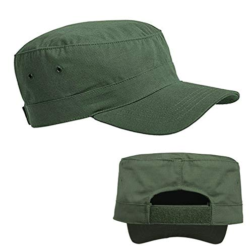 Military Hat Army Cadet Patrol Castro Cap Men Women Golf Driving Summer Olive US