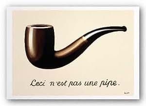 Amazon Com Rene Magritte Le Trahison Des Images 1929 Pipe