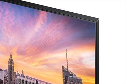 Samsung Business SR650 Series 24 inch IPS 1080p 75Hz Computer Monitor for Business with VGA, HDMI, DisplayPort, and USB Hub, 3-Year Warranty (S24R650FDN), Black 413f w 2BTJLL