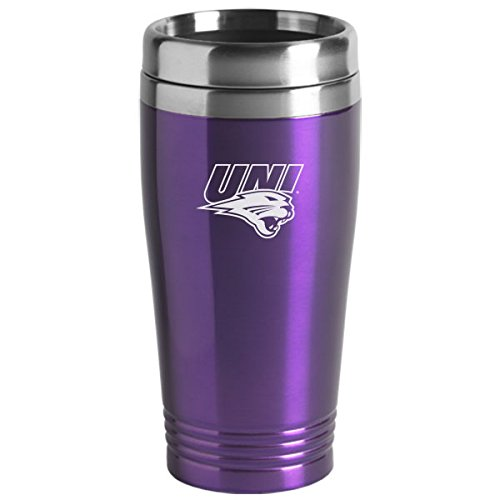 University of Northern Iowa - 16-ounce Travel Mug Tumbler - Purple