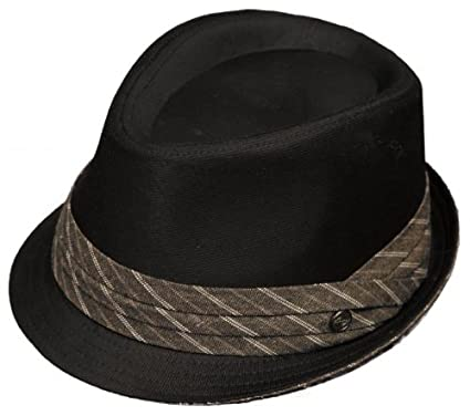 Amazon.com   New! Men s Dickies Fedora Cap 50 s Style Big Band Wise ... b094464144e