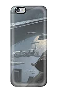 High Grade ZippyDoritEduard Flexible Tpu Case For Iphone 6 Plus - Star Wars Sci Fi People Sci Fi