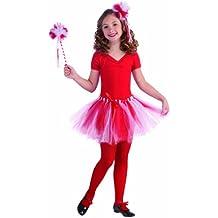 Forum Novelties Child's Candy Cane Red and White Tutu