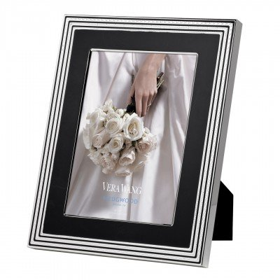 Amazon Vera Wang Wedgwood With Love Noir Picture Frame 8 X 10