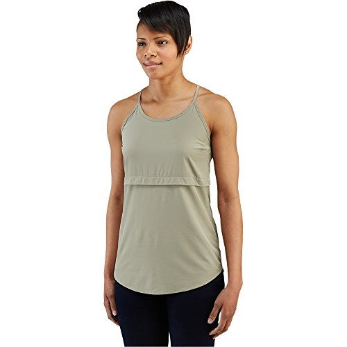 Merrell Women's Passiflora Tank Top, Putty, X-Small (Top Putty)