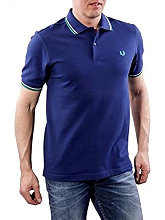 03ce222a7 Mens Fred Perry Twin Tip polo T-Shirt