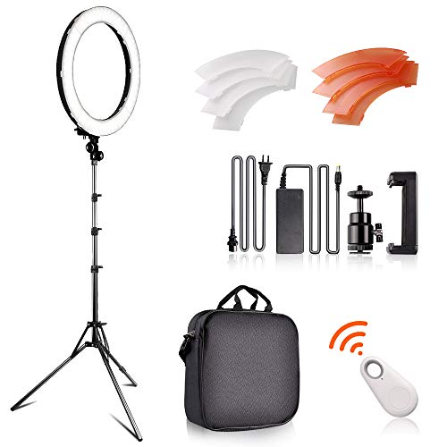Fositan 18 Inch Led Ring Light Kit 18 Inches 48cm Outer