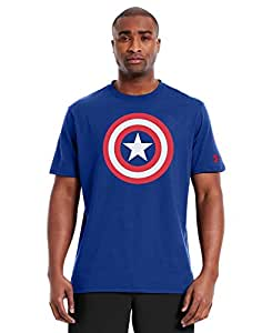 Under Armour Men's Alter Ego Captain America T-Shirt X-Large Royal