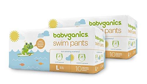 Babyganics Swim Pants, 20 Diapers, - Large Diaper