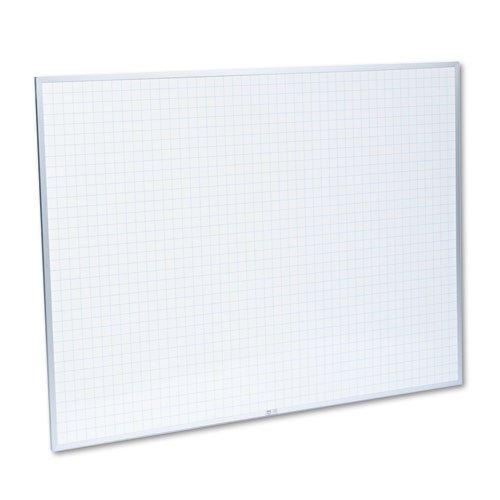 Magna Visual Planning Board (Magna Visual PBFG-6 Magna Visual Planning Board, 1x1 Grid, Porcelain-On-Steel, 48 x 36,)