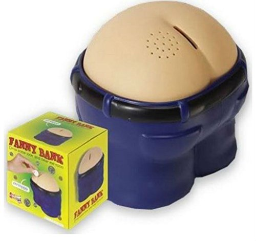 Fanny Bank Funny Farting Coin Drop Bank Great Gift/Gag