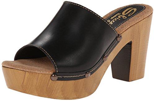 Sbicca Taffy Pelle Sandalo con la Zeppa