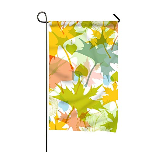 Christopher Macadam Flag, Fall Leaves Pattern Design, Campsi