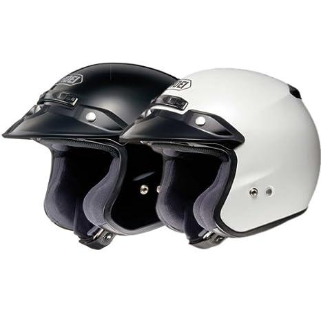 Amazon.com: Shoei Unisex Adult RJ Platinum-R Black Open Face Helmet 02-604: Automotive