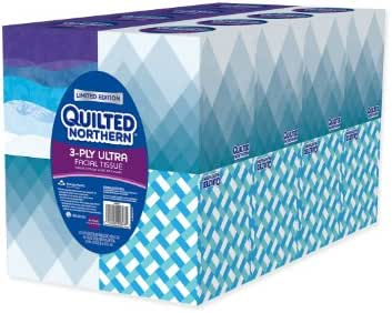 Tissues: Quilted Northern Ultra Facial Tissue