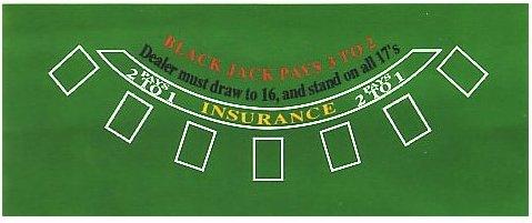 Gentil Amazon.com : 4 Deck Blackjack Set   All In One Blackjack Kit : Blackjack  Layouts : Sports U0026 Outdoors