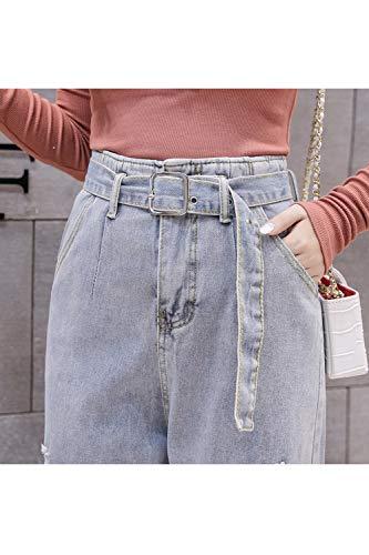 Ceinture Rgulirement en Denim Pantalon Les Jeans Bleues Pantalons en Claires De Femmes Tout U8WnCqF