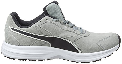 Competition Puma Shoes Suede Running cava bianco V3 periscopio Man Downhill Grigio CwCqRAg