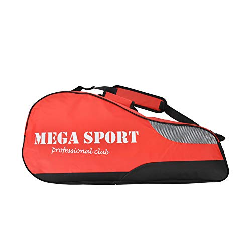 Premium 4 Pack Racquet Badminton Tennis Bag Holder Cover with Shoe Compartment for Men Women Kids