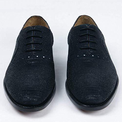 Moda Massaggio Affari Deodorante Black in Scarpe Personalizzato Uomo Alta Caldo Aumentare Il Pelle da Fascia di 8BO0q