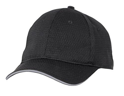 Color por el Chef Works frío Vent gorra de béisbol con bayas negro