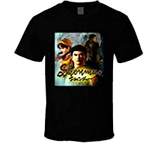 ZXBAO Shenmue Sega Dreamcast Classic Video Game T Shirt Black