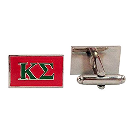 (Kappa Sigma Fraternity Letter Cufflinks Greek Formal Wear Kappa Sig)