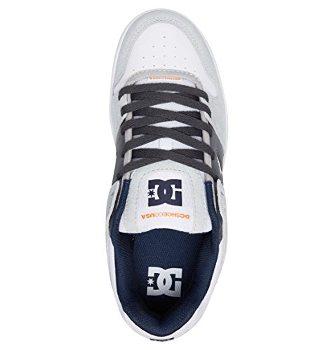 DC Homme Grey Manteca Skateboard Chaussures Shoes White de Gris ZZrOFB